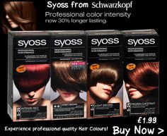 Syoss Hair Colour from Schwarzkopf from £1.99
