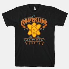 Remember the 90's sensation Powerline?  Sure, it may look goofy to the max now, but you can impress your friends with this movie inspired tee and stand out! #powerline #movies #animated #90s #goofy #nostalgia #standout