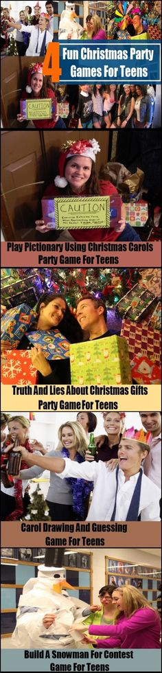 4 Fun Christmas Party Games For Teens