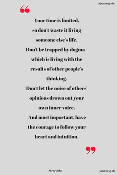 Do you live this way?  #stevejobs #motivation #quote