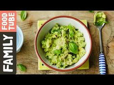 Chicken, Avocado & Basil Baby Food | Michela Chiappa - YouTube