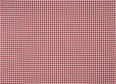 Gingham Check Cotton Fabric Scarlet This charming gingham check is a classic favourite for bedrooms, kitchens and country cottage styling. A pure cotton fabric suitable for curtains, blinds and soft furnishings. 100% cotton.