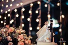 Casamento Dani e Fer - A DECOR mais encantadora que desejei foi realizado! Cortina de Luzes