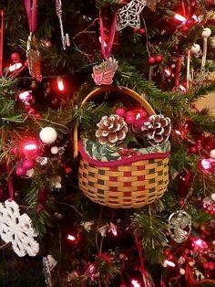 Longaberger Christmas Basket