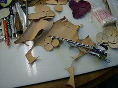 Making Leather Roses: Part 2