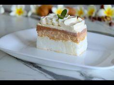 Japanski vjetar - divan kremasti kolač na jednostavniji način/ Creamy cake with walnuts - YouTube