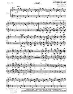 LINNAS for piano Piano, Sheet Music, Composition, Musical Composition, Writing, Music Sheets, Pianos