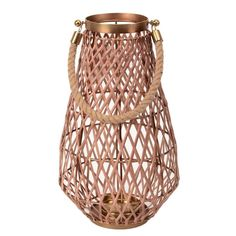 Made with a combination of rattan and mild steel with added touch of jute rope.