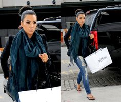 I always love Kim Kardashian her style. Beautiful make-up and clothes.