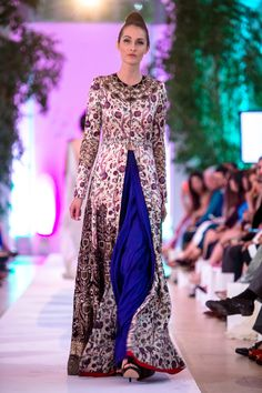 Anamika Khanna 2014 London Fashion Parade Collection