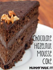 Chocolate Hazelnut Mousse Cake | http://mummymade.it/2014/11/chocolate-hazelnut-mousse-cake.html