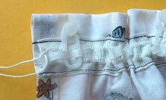 Gardinen mit kräuselband - FUNFABRIC :: Nählexikon :: Materiallexikon :: Tipps, Ideen und Anleitungen zum selber nähen