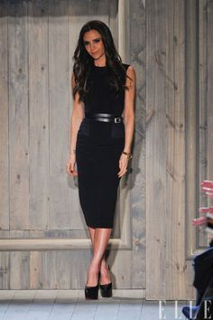 Victoria Beckham in her FW2012 collection