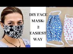 diy face mask / diy home decor ` diy crafts ` diy ` diy face mask sewing pattern ` diy clothes ` diy face mask ` diy furniture ` diy mothers day gifts Sewing Hacks, Sewing Tutorials, Sewing Crafts, Sewing Projects, Sewing Patterns, Diy Crafts, Easy Face Masks, Homemade Face Masks, Diy Face Mask