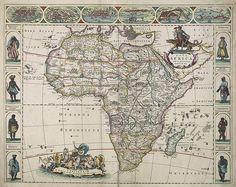 DE WIT, F. -  Nova Africa descriptio.