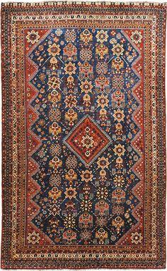 Animal Pictorial Tribal 5x8 Shiiraz Persian Oriental Handmade Area Rug Wool Home & Garden