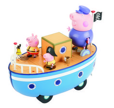 Peppa Pig: Grandpa Boat Set. Go travelling with Peppa Pig and her family. $49.99