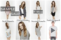 Sample Sale - Just Female - Second Female - Cheap Monday - Mads Norgaard -- Amsterdam -- 09/05-10/05