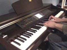 """▶ """"When We All Get To Heaven"""" piano solo by David Dyck - YouTube"""