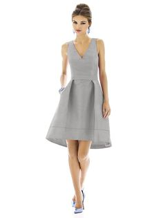 Alfred Sung Style D588 http://www.dessy.com/dresses/bridesmaid/D588/#.UpTlzJ0o7EI - color/chinchilla