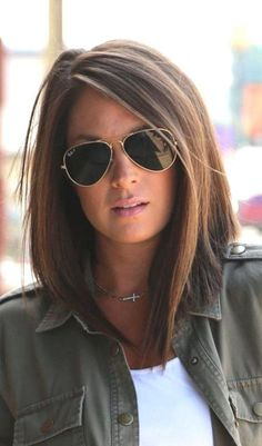Bob haircuts and hairstyles for women - Frisuren - Bob Haarschnitt . - Bob haircuts and hairstyles for women – Frisuren – Bob Haarschnitte und Frisuren für Frauen al - Medium Hair Cuts, Medium Hair Styles, Hairstyles For Medium Length Hair, Hairstyles For Long Faces, Medium Length Bobs, Lob Haircut Thick Hair, Hair Bob Long, Bob Haircut Long, Medium Length Hair With Layers Straight