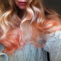 #bleachAWKWARDPEACH Shop the look: http://shop.bleachlondon.co.uk/collections/frontpage/products/bleach-super-cool-colours-awkward-peach