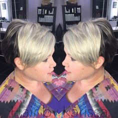 Silver metallic hair, Kenra color, Hair by Karissa at etc hair studio