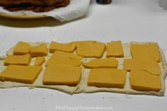 Grilled Cheese Bacon Crescent Squares - Mrs Happy Homemaker