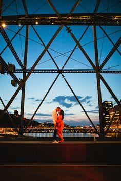 Pittsburgh Wedding - Pittsburgh Bridges - Joey Kennedy Photography