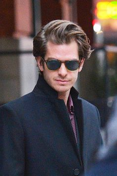 Image in Andrew Garfield. collection by F. on We Heart It Andrew Garfield Glasses, Andy Garfield, Iron Man Cartoon, Best Avenger, Pedro Pascal, Chris Pine, Jake Gyllenhaal, Famous Men, Pretty Men