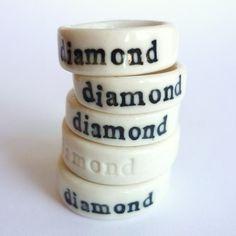 diamond rings, of course