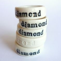 diamond rings - I would like to have one!