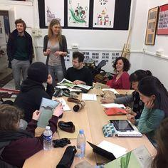 Lancement des 101 heures du livre jeunesse avec Sophie Dusigne et Donatien Mary.