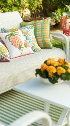 Like its namesake island, our Madeira Collection elicits carefree sophistication. | Frontgate: Live Beautifully Outdoors