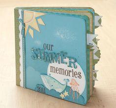 """""""Summer Memories"""" mini album idea from #CTMH."""