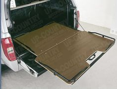 Antec Sliding Cargo Bed Tray for Nissan Navara D40 Double and King Cab