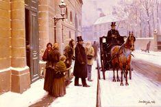 Jean Béraud (1849 – 1935) – Pintor Francês_16