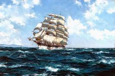 Montague Dawson Biography and Maritime Paintings and Art ...