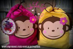Monkey Treat Bags