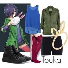 Touka by katwhisky on Polyvore                                                                                                                                                                                 More