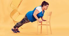This 30-day full-body fitness challenge only requires a chair.