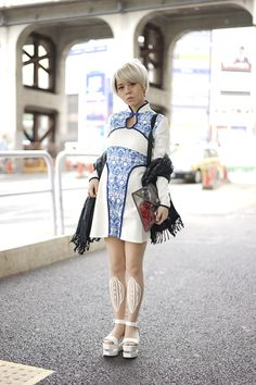 This is how Japanese fashion girls do it.