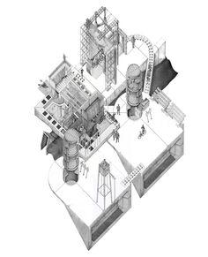 Frame House & Halfway House - Omar Ghazal