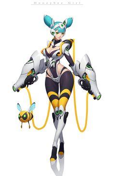 ArtStation - Cyberpunk, Jun Luo