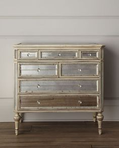 """Dresden"" Mirrored Chest - Horchow"