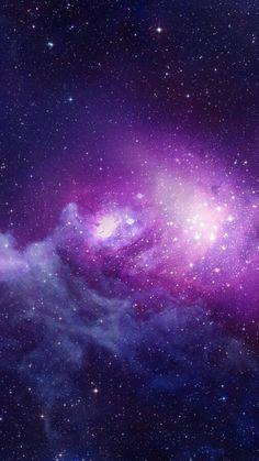 Purple Blue Galaxy Nebula Art Print by Galaxy Wallpaper, Cool Wallpaper, Wallpaper Backgrounds, Purple Wallpaper, Anchor Wallpaper, Profile Wallpaper, Space Backgrounds, Galaxy Space, Galaxy Art