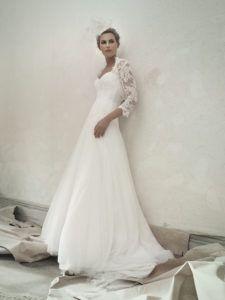 CLOTHILDE - Robe de mariée bustier en dentelle - Cymbeline Collection 2018