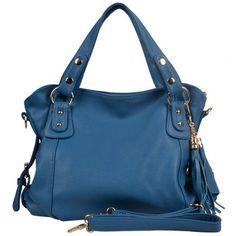 23.30 euro incl shipping new arrival elegan women messenger bag pu leather handbag luxury tassle zipper organizer should bag  WFCHB00429