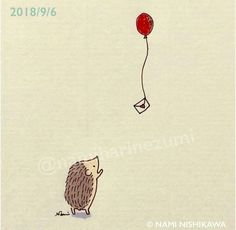 ^ This is how I'll send you a letter when I'm thinking of you. Hedgehog Drawing, Hedgehog Art, Cute Hedgehog, Doodle Drawings, Doodle Art, Cute Drawings, Hedgehog Illustration, Cute Illustration, Easy Nature Drawings