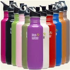 Klean Kanteen® Stainless Steel Reusable Bottle, 27 oz